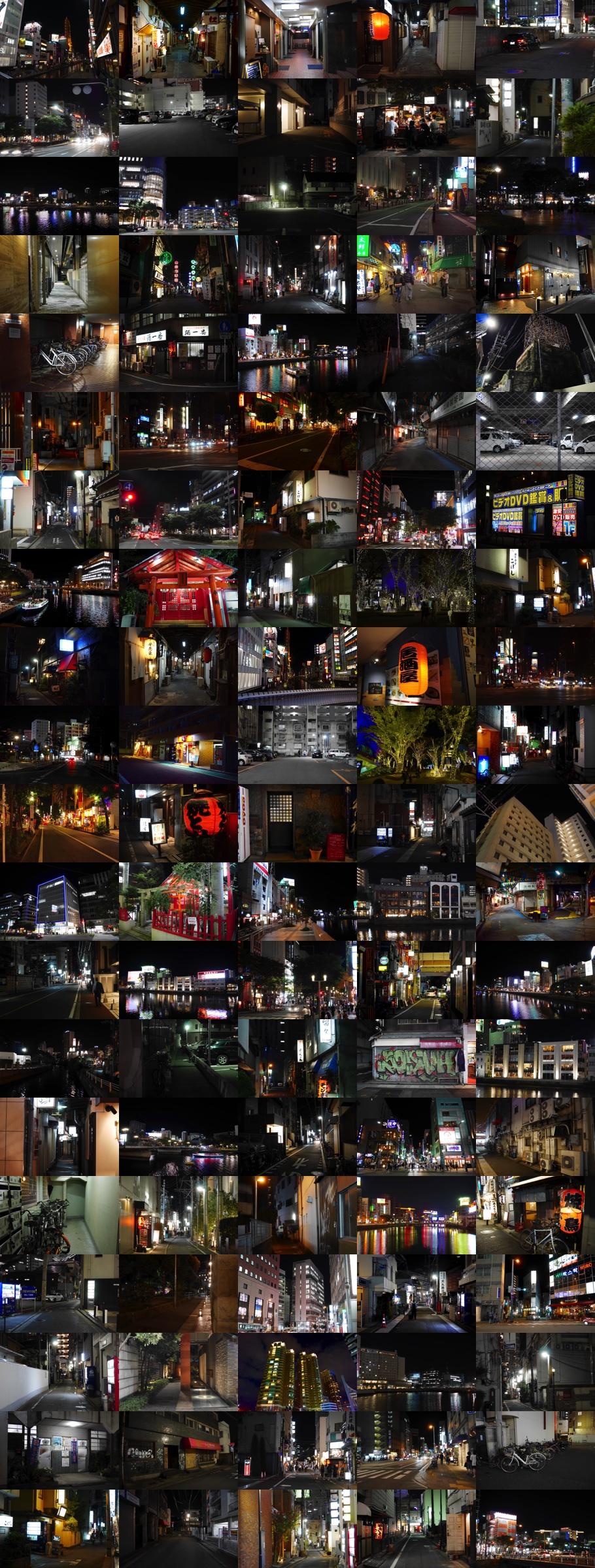 夜景夜の街並み1
