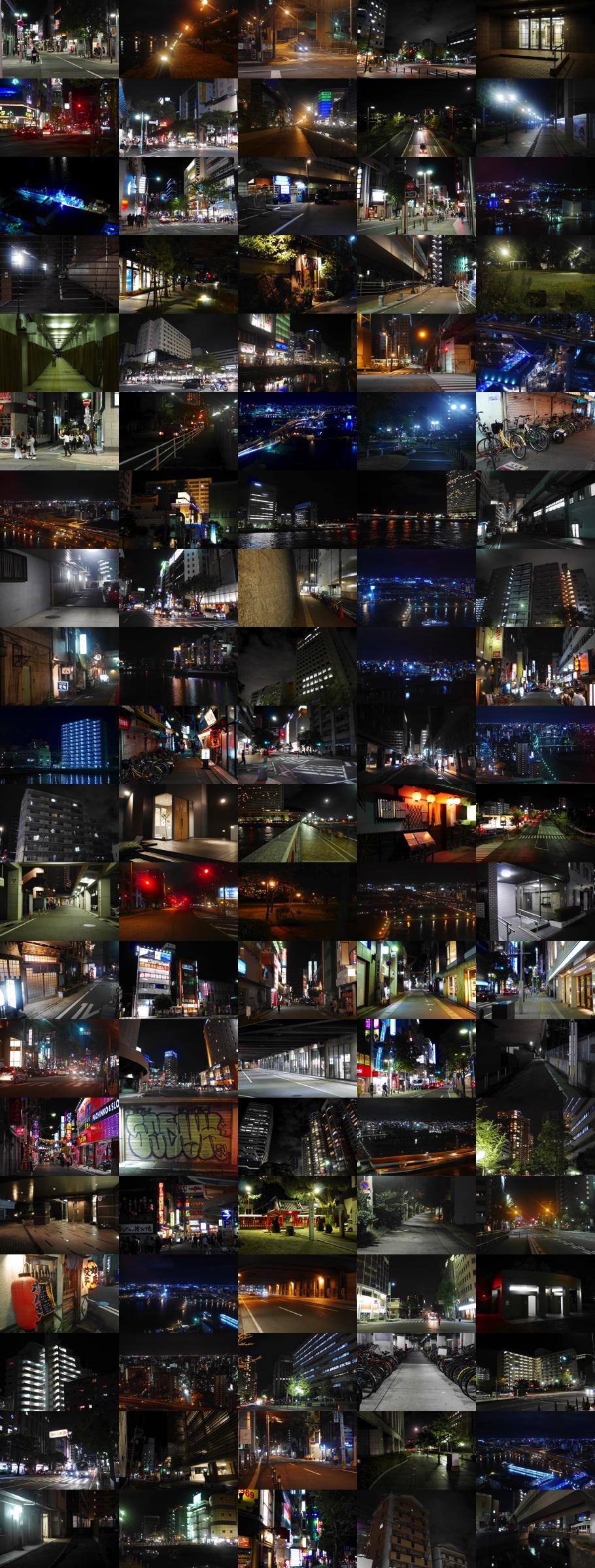 夜景夜の街並み2